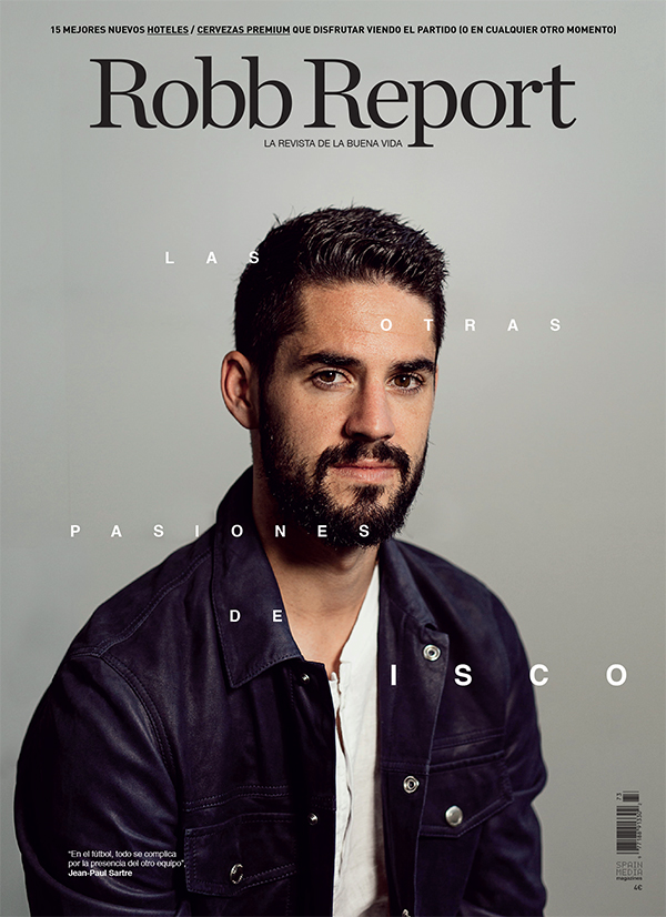 ROBB REPORT ISCO ALARCON REAL MADRID