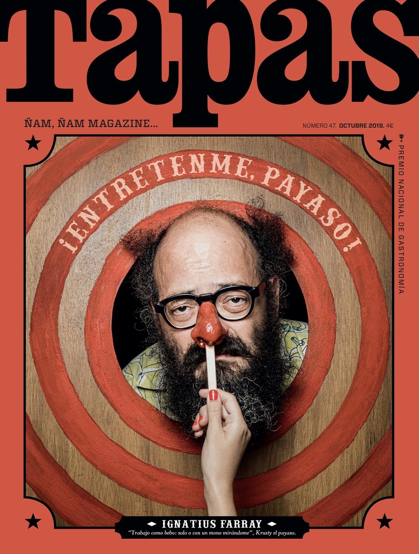 Ignatius Farray - Portada de Tapas