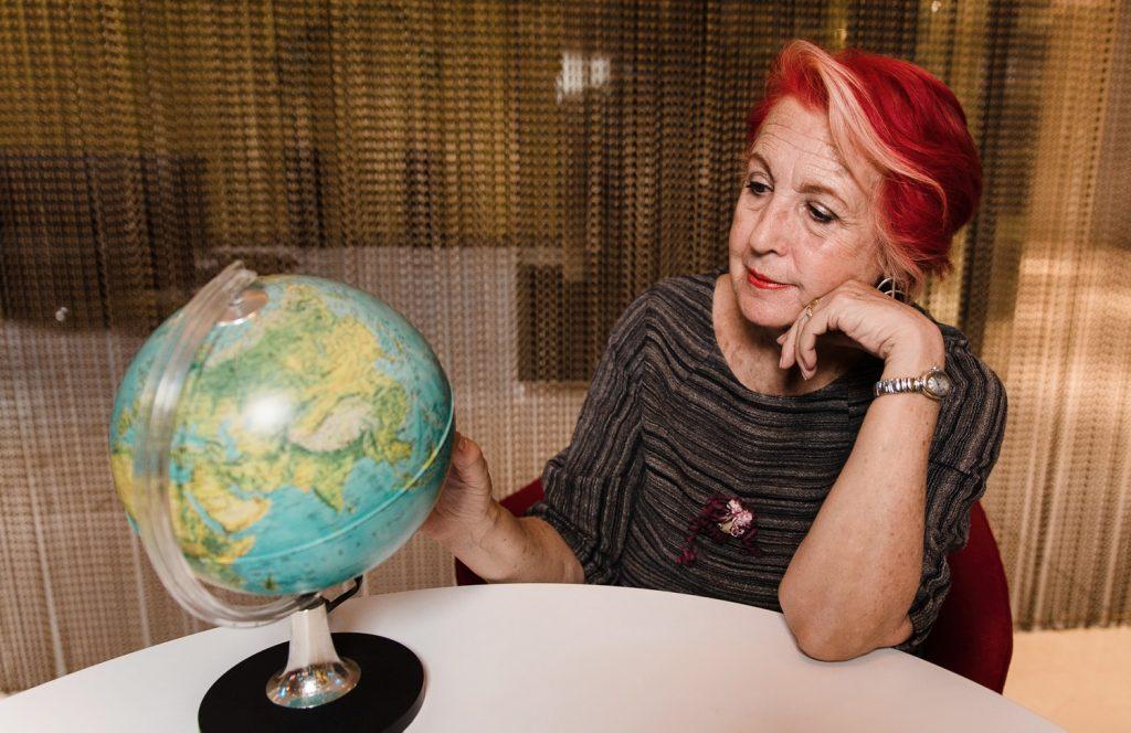 Rosa María Calaf -Man on the Moon